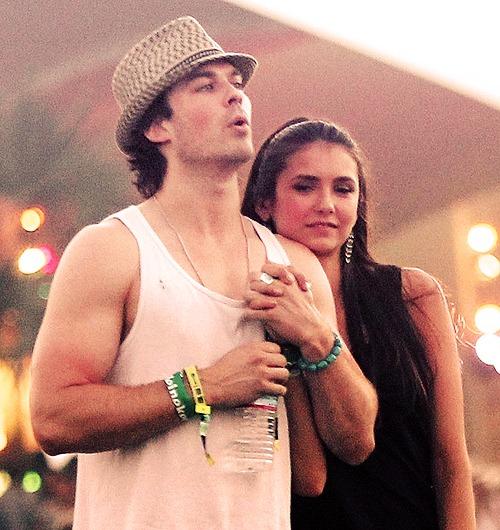 post nian nina dobrev  ian somerhalder what a beautiful couple