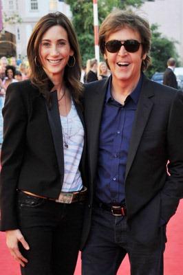Nancy And Paul Martin Scorsese Olivia Shevell McCartney Dhani Harrison