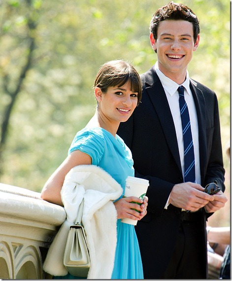 cory monteith and lea michele dating in real life
