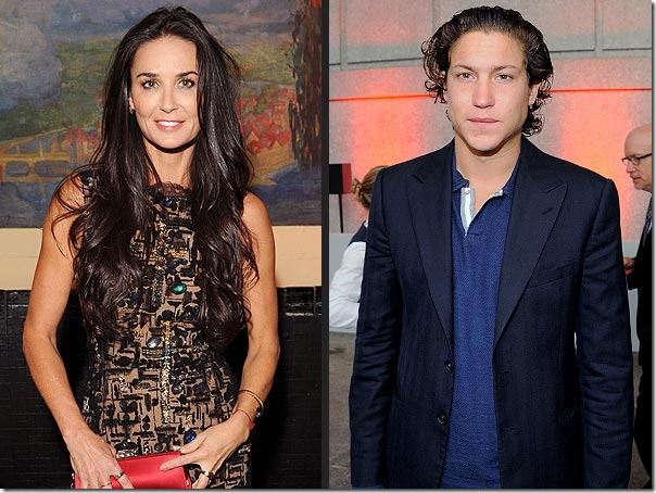 Demi moore dating vitos pizza
