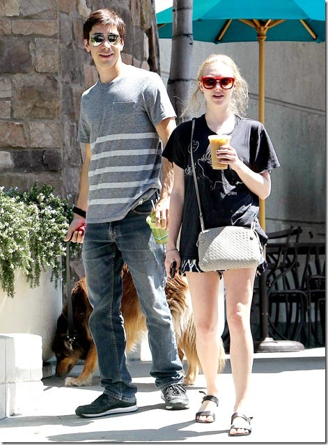 Amanda Seyfried & Justin Long