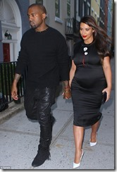 Kanye and Kimwhiteshoes